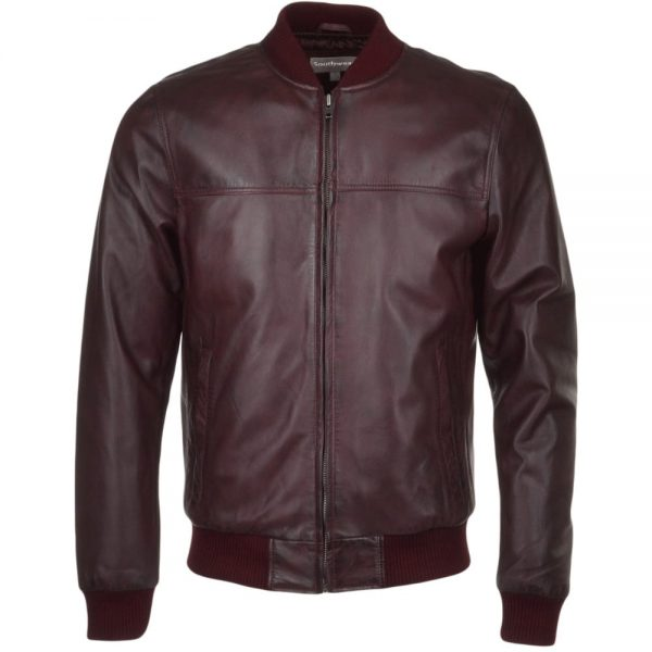 tommy -oxblood-bomber-leather-jacket