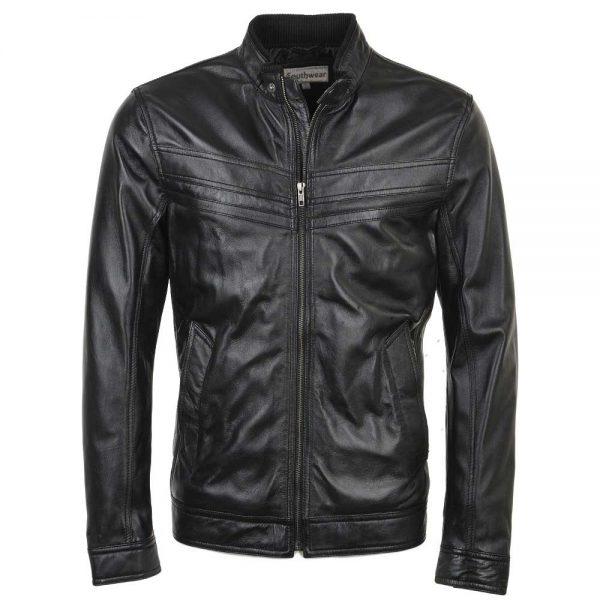 david-black-leather-jacket