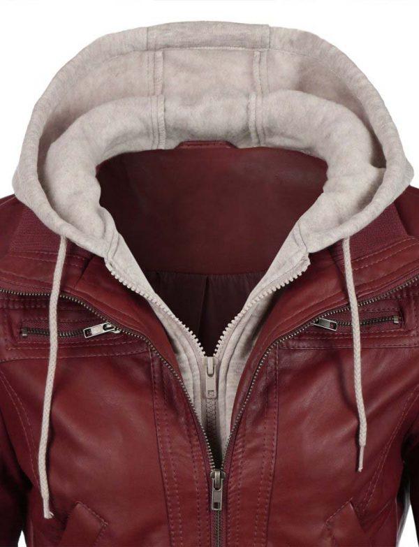 jean-hooded-women-leather-jacket-red-zoom