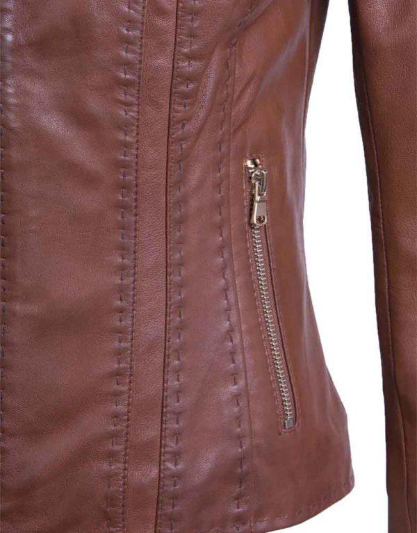 marina-brown-women-leather-jacket-detail-southwear