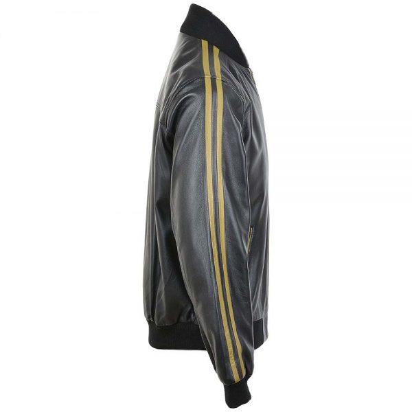 fury-striped-men-leather-jacket-black-yellow-side