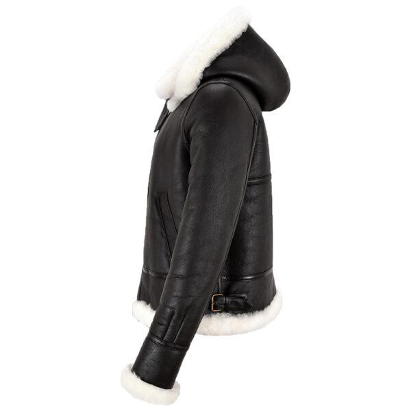 tina-ladies-b3-black-hooded-real-sheepskin-shearling-white-fur-winters-jacket