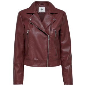 maroon-biker-leather-jacket