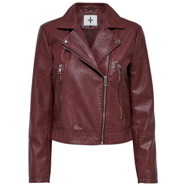 maroon-biker-leather-jacket