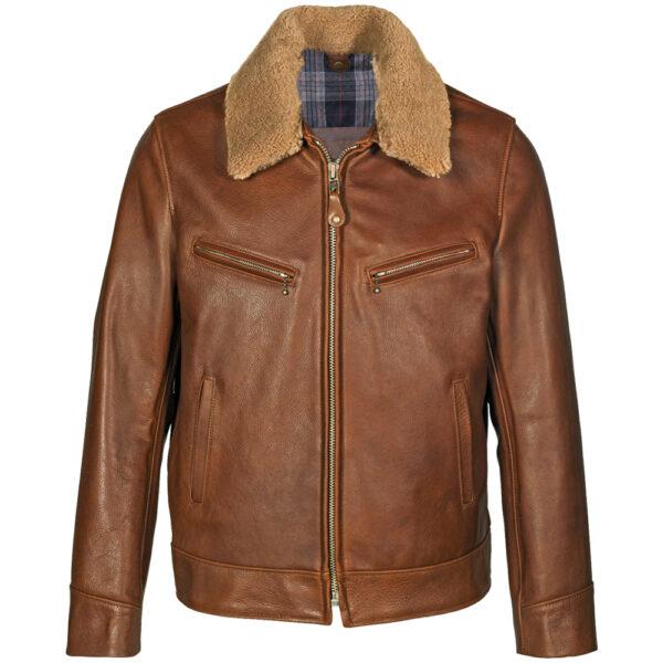 brown-cowhide-jacket-with-lamb-fur-collar