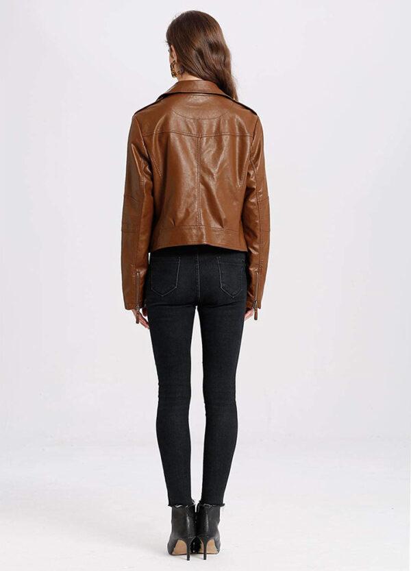 ladies-biker-jacket-brown